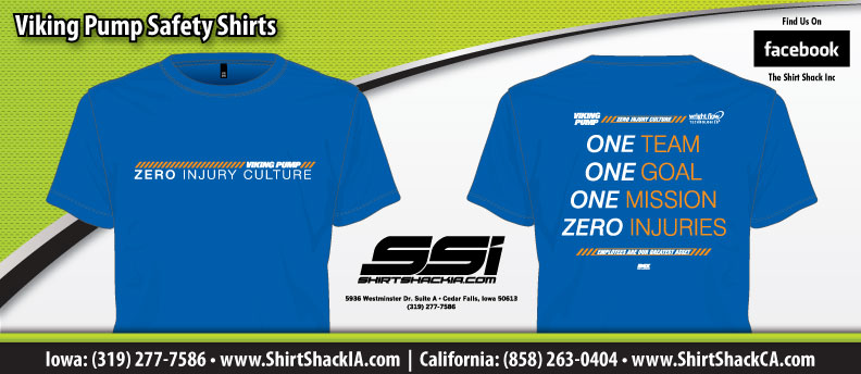 Employee safety shirts the shirt shack inc for Safety t shirt logos